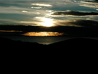 Lake Titicaca sunset
