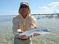 Bruce with a bonefish