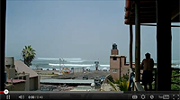 Huanchaco, Peru View from hotel