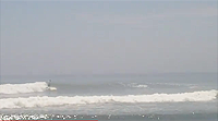 JP riding another wave in Huanchaco, Peru